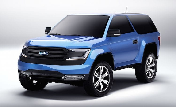 2017 Ford Bronco is coming! Rumors, Engine (Diesel ...