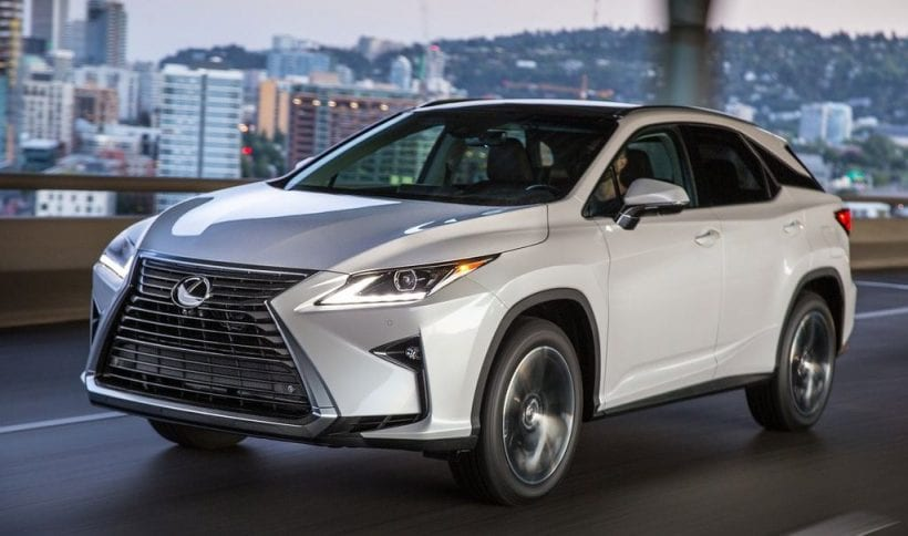 2017 Lexus RX 350 Redesign Spy Photos Interior Colors