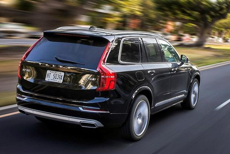 2017 volvo xc90 release date price performance. Black Bedroom Furniture Sets. Home Design Ideas