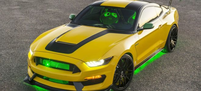 2016 Ford Mustang Shelby GT350 Ole Yeller Sold at Auction