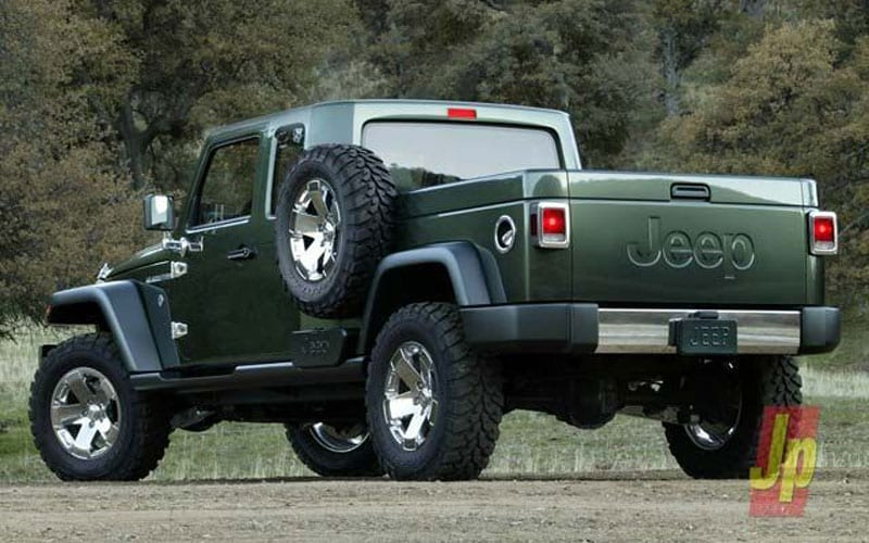2019 jeep wrangler pickup truck confirmed release date design pics. Black Bedroom Furniture Sets. Home Design Ideas